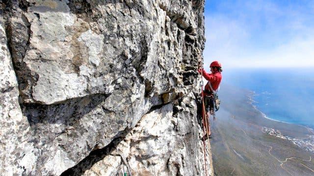 Rock Climbing Table Mountain