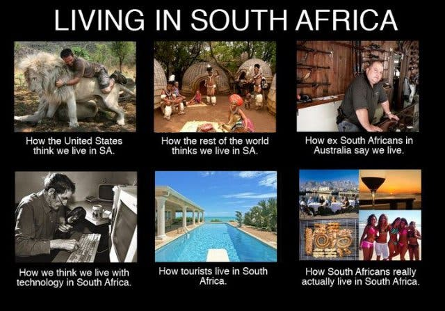 wonen in zuidafrika