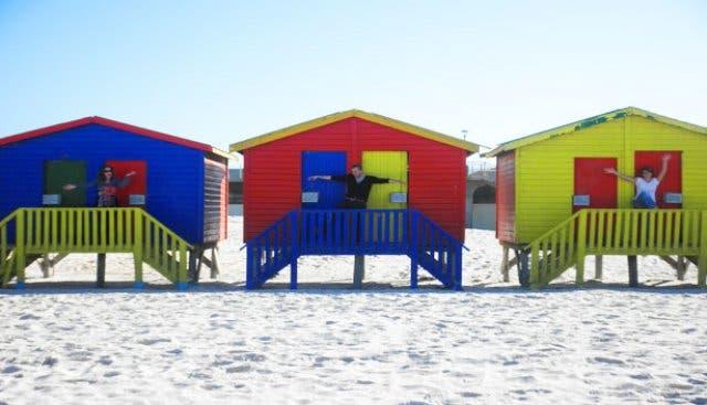 muizenberg strand zuidafrika