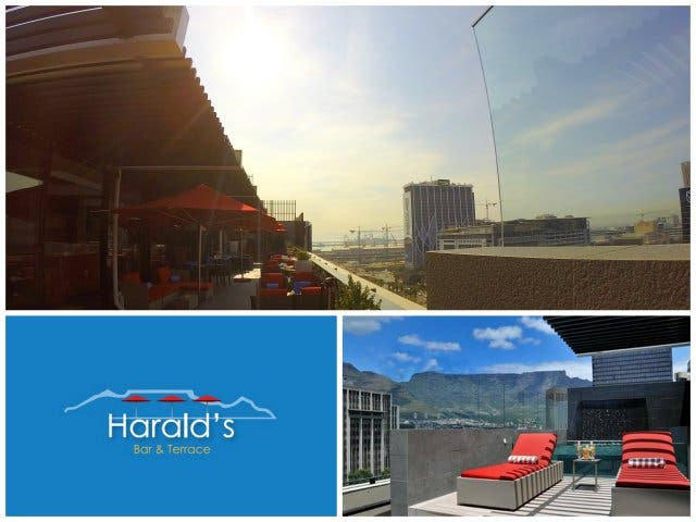 Harald's bar and terrace