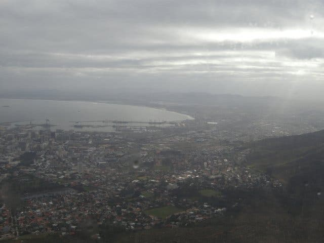 regen Kaapstad