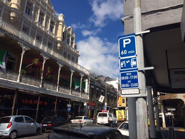 parkeren kaapstad