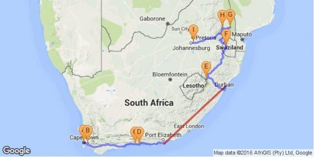 rondreis zuidafrika