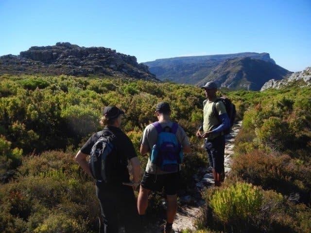 hoerikwaggo trail zuidafrika