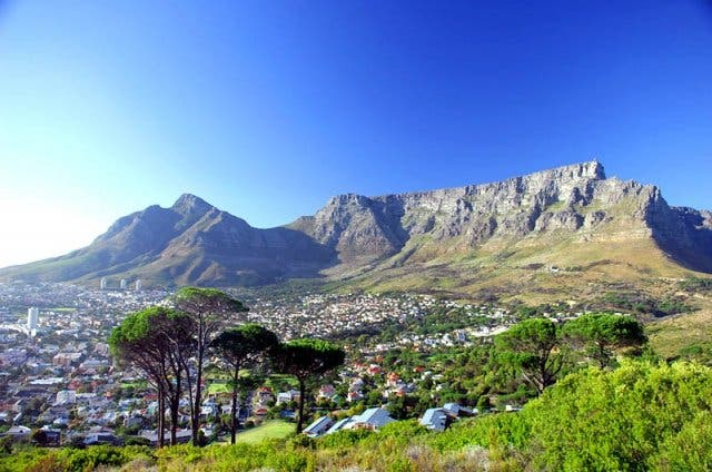 table mountain kaapstad