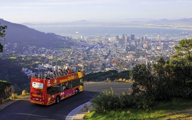 sightseeing bus kaapstad