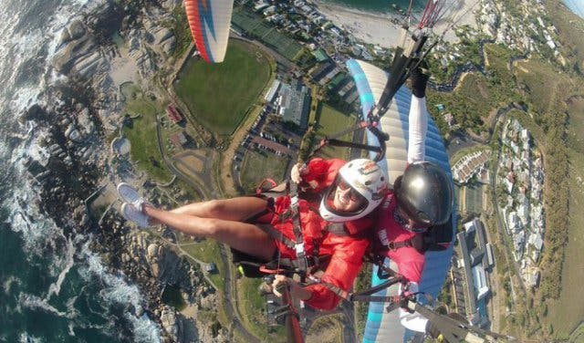 paragliden kaapstad