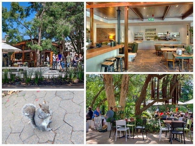 company's garden cafe