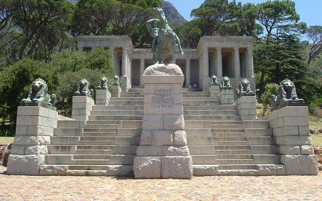 Rhodes Memorial Kaapstad