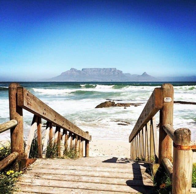 vakantie zuid-afrika tafelberg