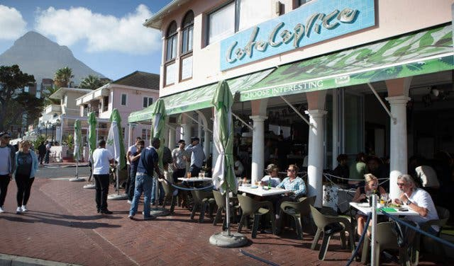 cafe caprice camps bay