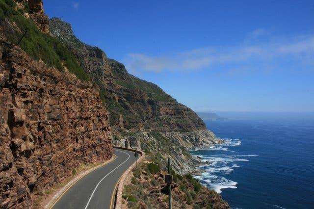 Chapmans Peak vakantie Zuid-Afrika