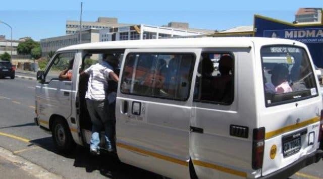 minibusjes Kaapstad