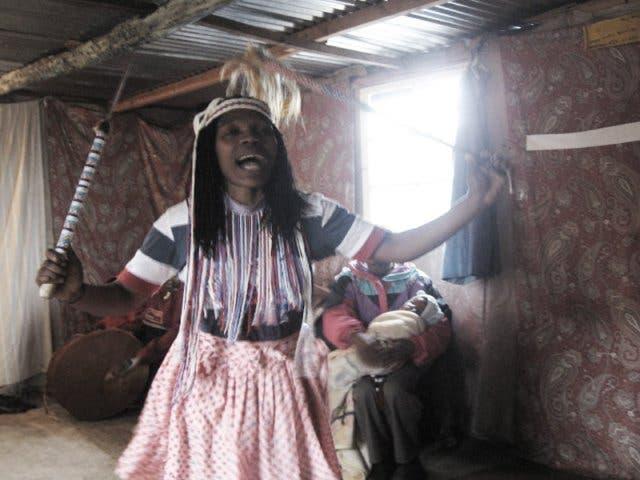 sangoma zuid-afrika