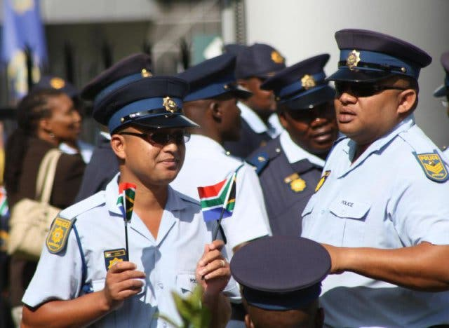 veiligheid Zuid-Afrika