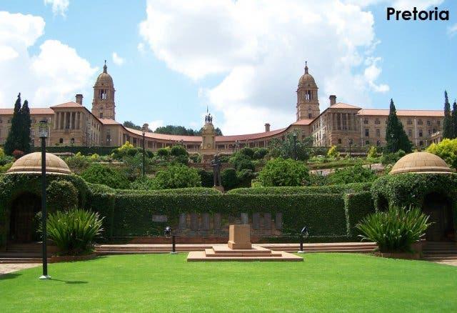 hoofdstad zuidafrika