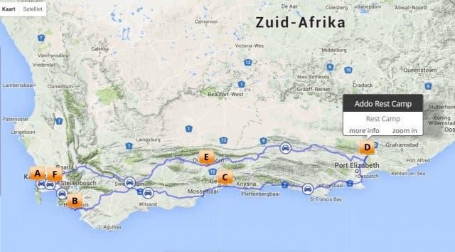 rondreis kaapstad zuid-afrika