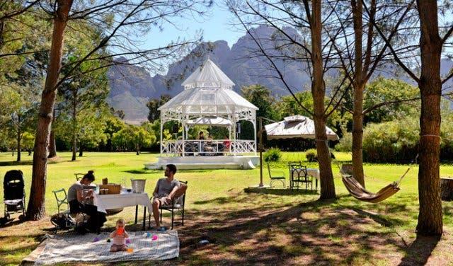 picknicken wijnlanden