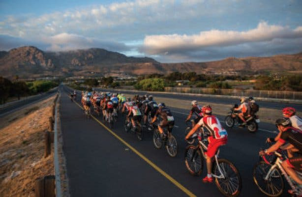 cycle tour cape town
